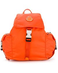 Moncler Rugzak Met Logo - Oranje