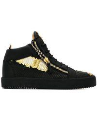 Giuseppe Zanotti - Sneakers decorate con zip - Lyst