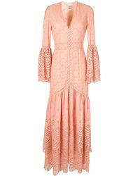We Are Kindred Платье Lua С Английской Вышивкой - Розовый