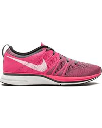 Nike Baskets Flyknit Trainer + - Rose