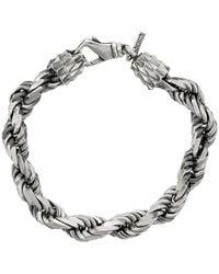 Emanuele Bicocchi Chain-link Bracelet - Metallic