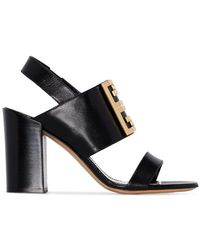 Givenchy - 4g Logo Mules - Lyst