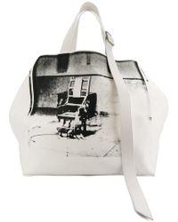 CALVIN KLEIN 205W39NYC - X Andy Warhol Tote Bag - Lyst