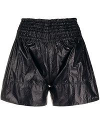 Aries Repeat Logo Shorts - Black