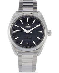 Omega Наручные Часы Seamaster Pre-owned 41 Мм 2020-го Года - Черный