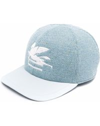 Etro Бейсболка С Вышивкой Pegaso - Синий