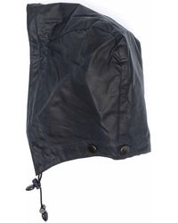 Barbour Attachable Drawstring Hood - Blue