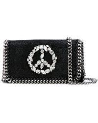 Stella McCartney - Crystal Peace Falabella Cross-body Bag - Lyst