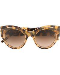 Pomellato - Oversized Round Frame Sunglasses - Lyst
