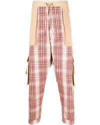 Vivienne Westwood Karierte Hose mit großen Taschen - Mehrfarbig