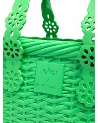 Viktor & Rolf X Melissa Possesion Lace Tote Bag - Green
