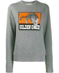 Golden Goose Deluxe Brand ロゴ スウェットシャツ - グレー