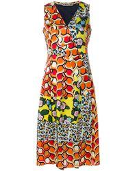 JOUR/NÉ Multi Print Wrap Dress - Multicolor