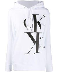 Calvin Klein - ロゴ パーカー - Lyst
