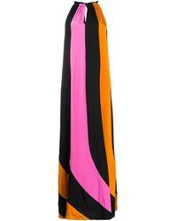 Diane von Furstenberg カラーブロック ドレス - マルチカラー