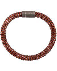 Carolina Bucci Twister Band Bracelet - Red