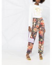 Moschino ロゴ ロングtシャツ - ホワイト