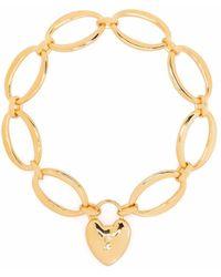 Dinny Hall Bracelet à maillons ovales - Métallisé