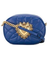Dolce & Gabbana Devotion Crossbodytas - Blauw