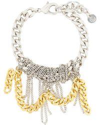 MM6 by Maison Martin Margiela - Messy Chain Bracelet - Lyst
