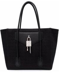 Givenchy Сумка-тоут С Монограммой - Черный