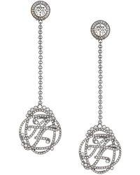 Alberta Ferretti - Stoned Earrings - Lyst