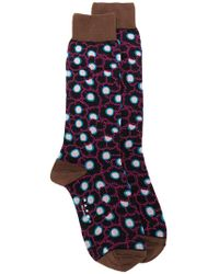 Marni - Floral Patterned Socks - Lyst