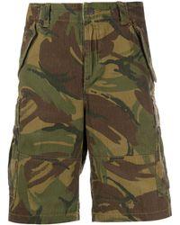 Polo Ralph Lauren Cargo-Shorts mit Camouflage-Print - Grün