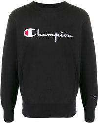 Champion スウェットシャツ - ブラック
