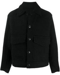 AMI パッチポケット ジャケット - ブラック