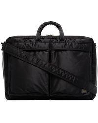 Porter Tanker Laptoptas - Zwart