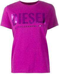 DIESEL T-sily Tシャツ - ピンク