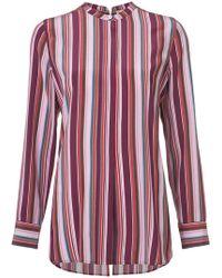 Figue - Monique Pyjama-style Striped Shirt - Lyst