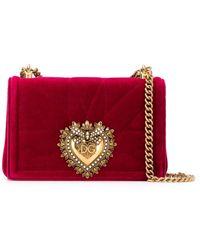 Dolce & Gabbana Devotion ショルダーバッグ - レッド