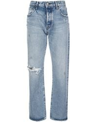 Moussy Hesperia Straight Jeans - Blue