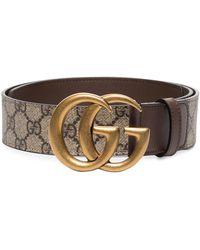 Gucci - Ремень GG Marmont С Узором GG Supreme - Lyst