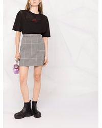Giada Benincasa スローガン Tシャツ - ブラック