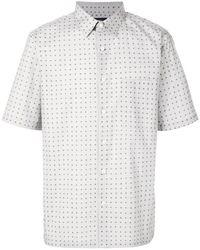 Theory - Printed Shirt - Lyst