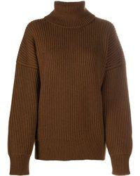 Dolce & Gabbana タートルネック セーター - ブラウン
