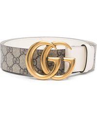 Gucci - Ремень С Логотипом Double G - Lyst