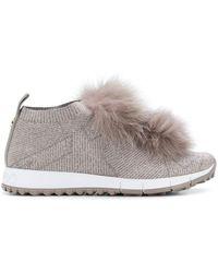 Jimmy Choo Norway Sneakers - グレー