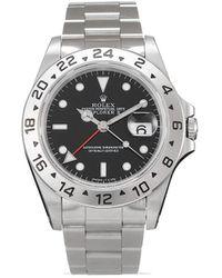 Rolex Наручные Часы Explorer Ii Pre-owned 40 Мм 1996-го Года - Черный