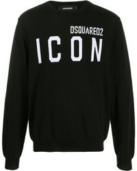 DSquared² - Icon ロゴ セーター - Lyst