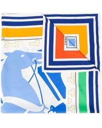 Hermès - Платок Puzzle 1970-х Годов Pre-owned - Lyst