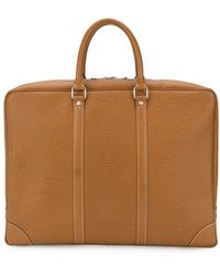 Louis Vuitton 2006's Pre-owned Laptop Leather Bag - Brown