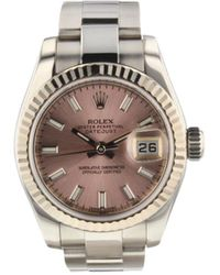 Rolex 2009 pre-owned Datejust, 26mm - Pink