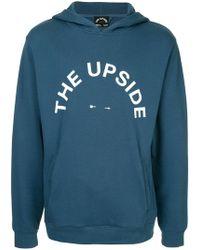 The Upside - Logo Print Hoodie - Lyst