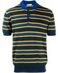 1063720c4d Polo a righe - Blu