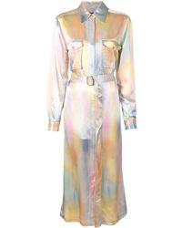 Sies Marjan Платье-рубашка С Поясом - Многоцветный