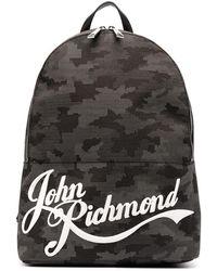 John Richmond Tennial バックパック - ブラック